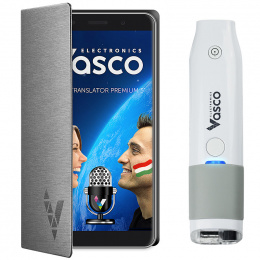 "Vasco Translator Premium 5"" + Skaner"